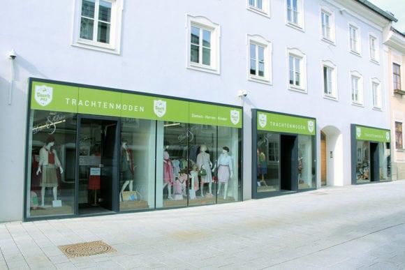 Tauernpass, Trachtenmode in Radstadt, Firmenchronik